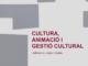 Cultura, animació i gestió cultural, el llibre del Carles Monclús i Garriga