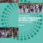 acción comunitaria medio abierto